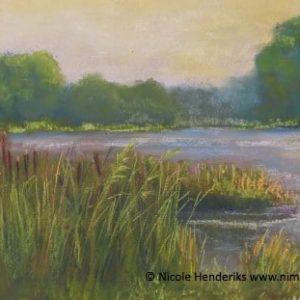 kreek in de polder