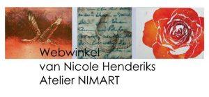 webshop van Atelier NIMArt Nicole Henderiks Mooikunstkado