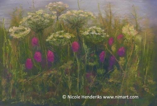 veldbloemen landschappen