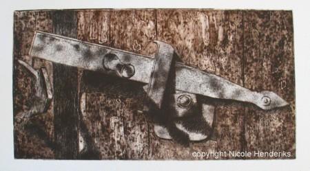 Oud deurslot te koop oplage