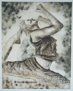 vrouw danseres