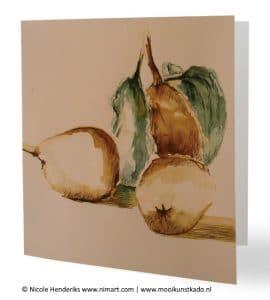 kunstkaart stilleven met envelop kopen