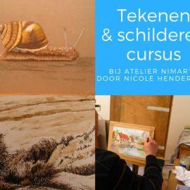 Nieuwe tekenen en schilder cursus