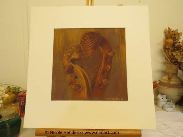 stilleven schilderij in opdracht voltooid