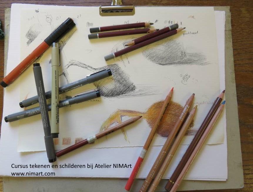 nieuwe workshop tekenen