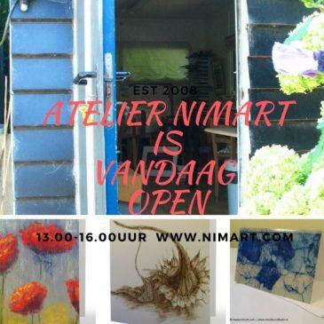 Atelier NIMArt gaat een middag open