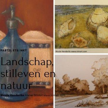 Open atelier dagen kunstrondje Heikant