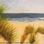 zee strand en duinen
