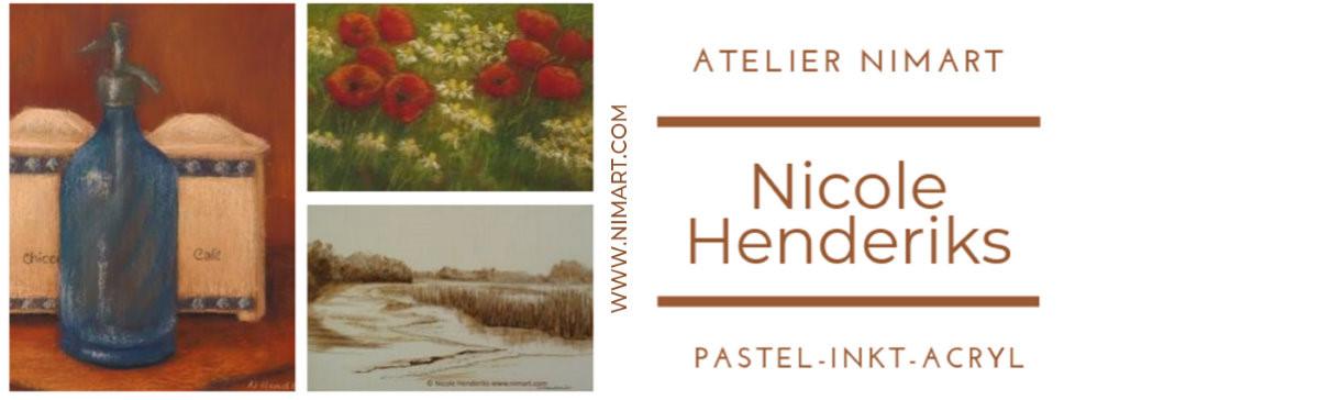 Nicole Henderiks | Atelier NIMArt kunstenares landschap-stilleven-dier in tekening,schilderij en ets