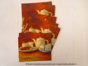 ansichtkaart en postkaart op de koffie kopen
