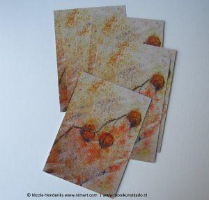 ansichtkaart en postkaart lampionnetjes kopen