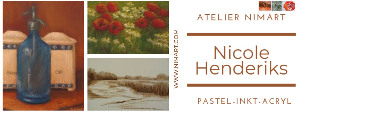 Nicole Henderiks | Atelier NIMArt kunstenaar landschap-stilleven-dier en natuur in tekening en schilderij