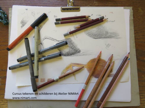 online cursus tekenen en schilderen