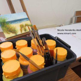 schilderen met acryl