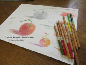 tekenen met kleurpotlood
