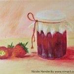 aardbeien-met-jampot