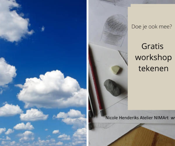 hoe teken je wolken?